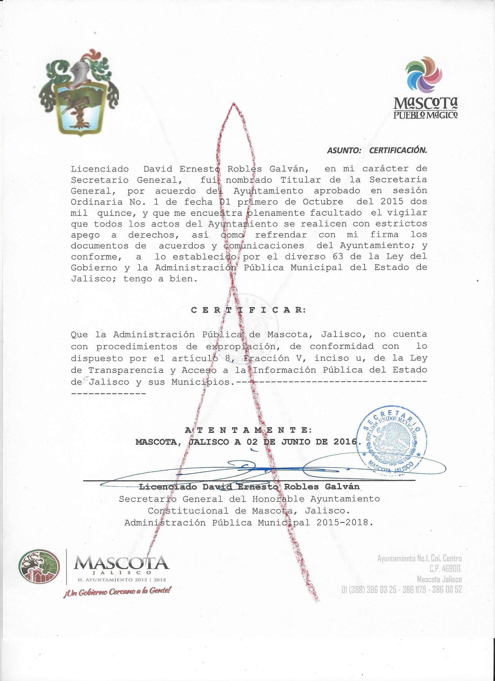 Artículo 8 Fracción V - Ayuntamiento de Mascota   Portal de captura ...